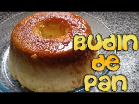 BUDÍN DE PAN Super Fácil
