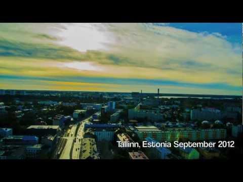 Time Lapse Movie - Tallinn Estonia