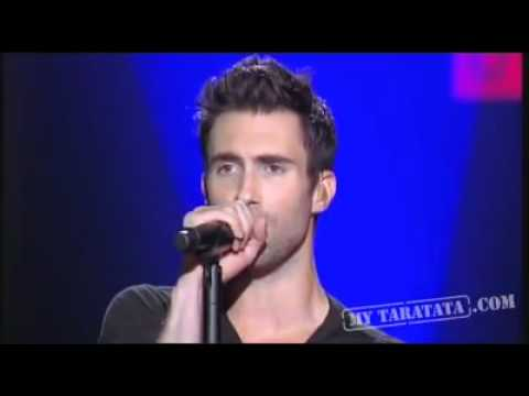Maroon 5 - Give A Little More live on french TV