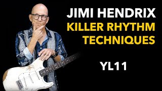 Jimi Hendrix Style Lesson - Killer Rhythm Techniques YL11