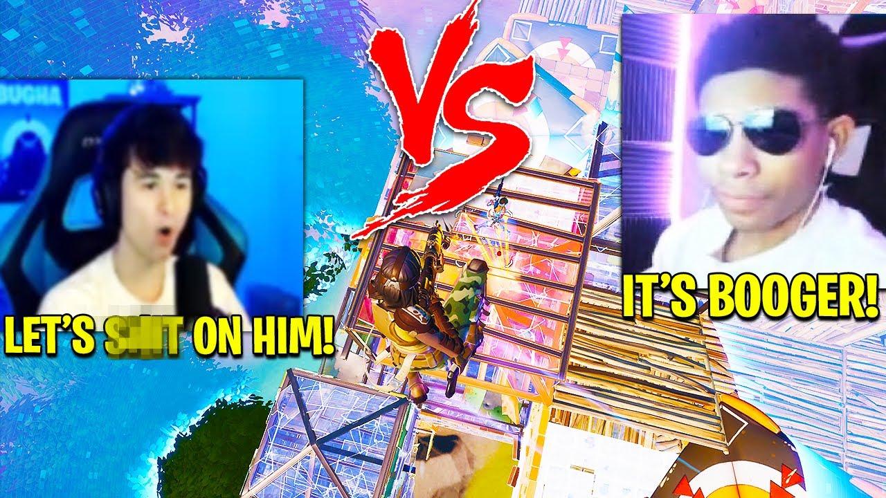 UNKNOWN vs BUGHA *TWICE* in ONE CASH CUP! Fortnite Season 3