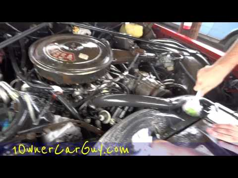 Engine Cleaning Degreasing DIY Detail Professional Wash and Clean Step #3 Motor Video
