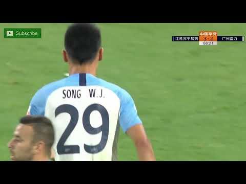Jiangsu Suning 3 - [2] Guangzhou R&F - Xiang Ji (Own Goal) 89'