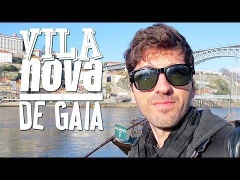 Vila nova de Gaia e Rio Douro - Cidade do Porto   Hoje tô Aqui