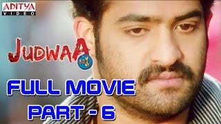 Judwa No1 Hindi Movie Part 6/11 Jr.NTR, Nayanatara, Sheela