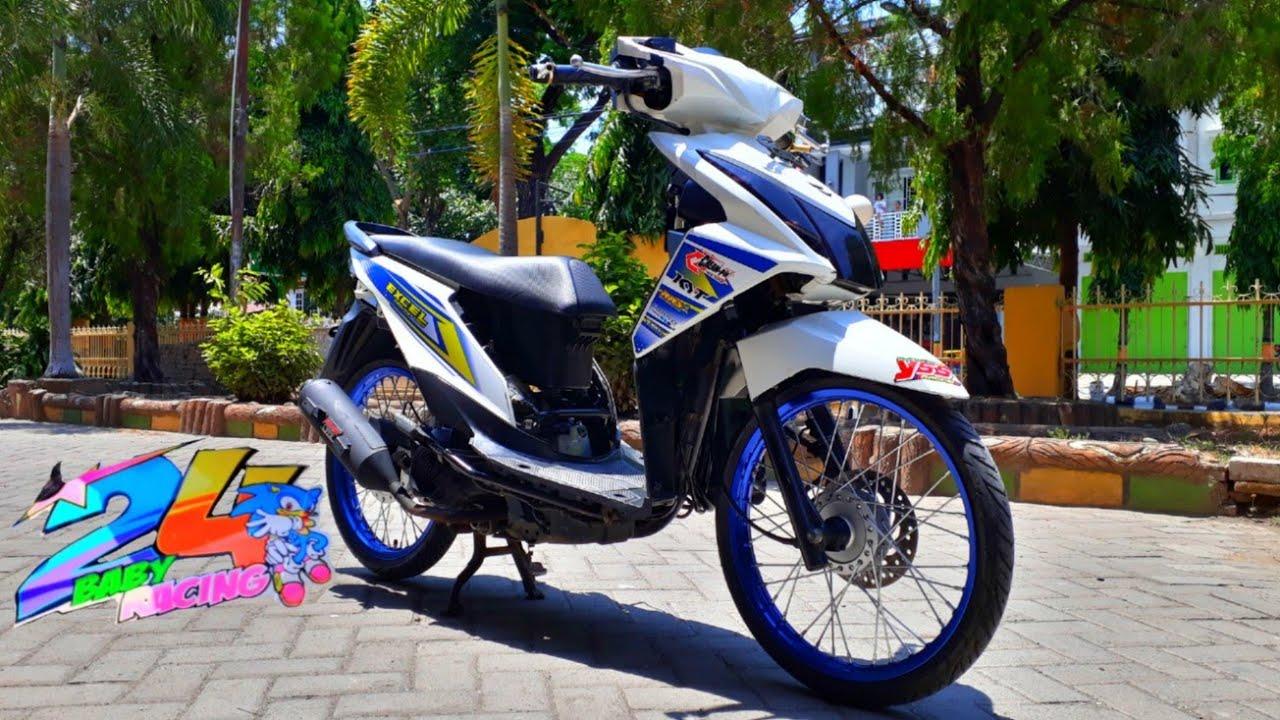 Modifikasi Honda Beat F1 Jari Jari 24 Baby Racing Led Proji Thailook Style 2018 Youtube