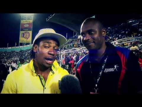 Making of Champions #01: Yohan, Shelly-Ann and Asafa at CHAMPS // © 2013