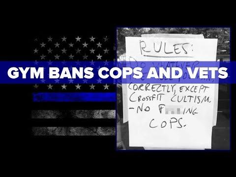 Atlanta Gym BANS Cops and Active Duty Soliders!
