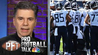 Florio: Titans' COVID-19 outbreak a wake-up call for NFL | Pro Football Talk | NBC Sports