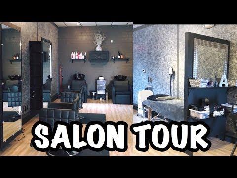 MY SALON TOUR   ABL BEAUTY LOUNGE   Alexis Luft