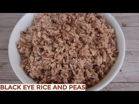 Belizean Black Eye Rice & Peas | New Years Menu | 2019