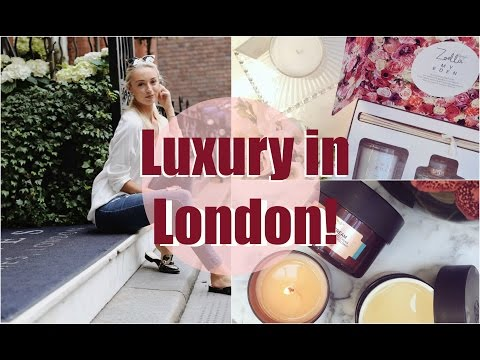 A Day of Luxury in London, Zoella Apartment & My Chi!   |  Fashion Mumblr Vlog