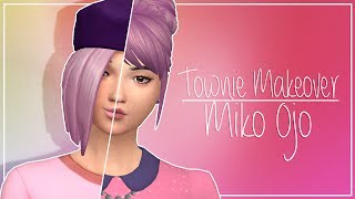 Sims 4 Townie Makeover Miko