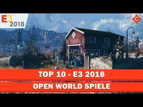 Die Zehn Besten Open-World-Spiele Der E3 2018  | Top 10