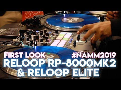 Reloop RP-8000 Mk2 Turntables & Reloop Elite Mixer For Serato DJ Pro - Technics Killer? #NAMM2019