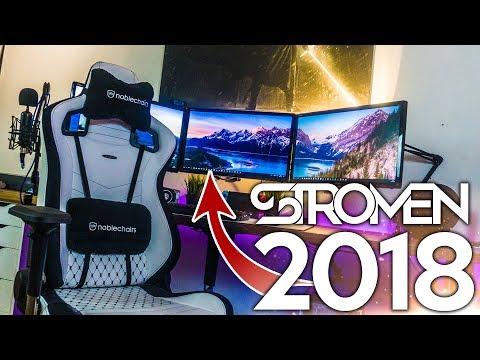 MIN SETUP - TIDIGT 2018 - STROMEN