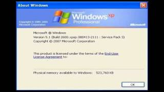 Windows Xp Professional Service Pack 3 Serial Number