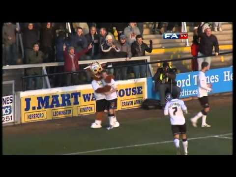 Hereford 2-2 Lincoln City | The FA Cup 2nd Round - 27/11/10