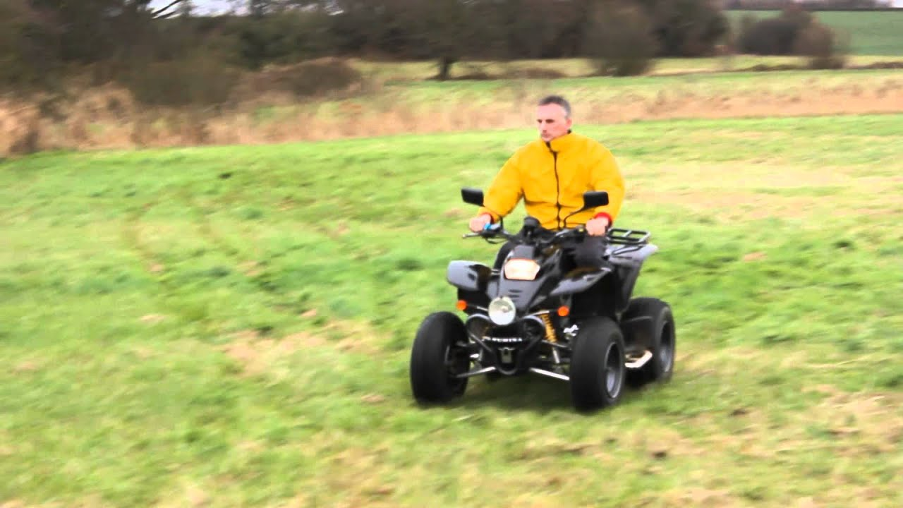 smc ram 250 quad bike montage youtube. Black Bedroom Furniture Sets. Home Design Ideas