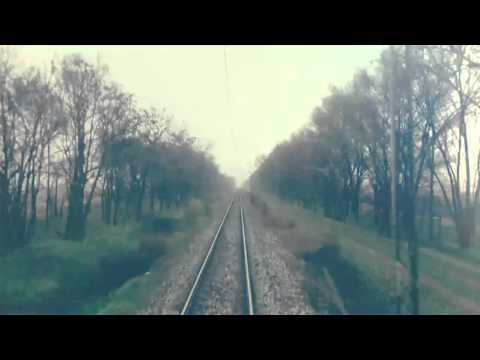 Train Driver's view:railroad in Serbia from Backa Topola to Zednik - SERBIAN RAILWAYS