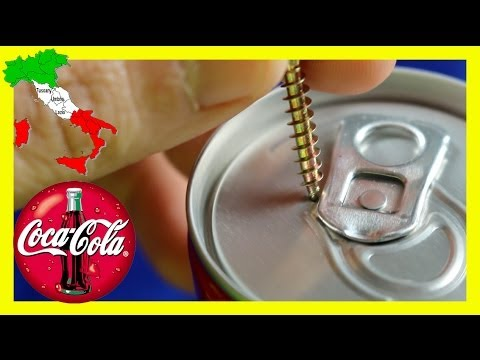 how to open a soda can without tab