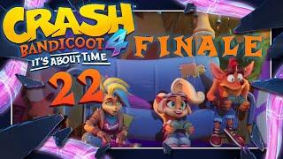 CRASH BANDICOOT 4: IT'S ABOUT TIME 📦 #22: Final Boss, Credits & Secret Ending [ENDE]