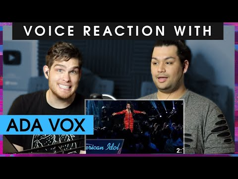 Voice Teacher And Ada Vox Reacting To Ada Vox American Idol Performances (Audition And Creep)