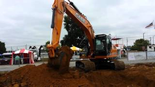 Video still for Case CX210D and Case CX80C Excavators on Display at ICUEE