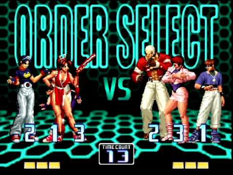 The King of Fighters 2002 (PlayStation 2) Arcade as Womens Fighters Team