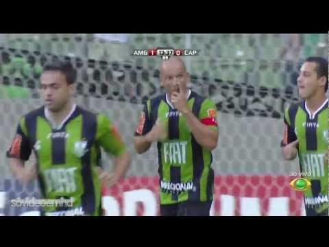 Gols - América-MG 3 x 2 Atlético-PR - Série B 2012 - 07/07/2012 - Band HD