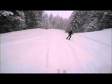 Video Piazzatorre 5 marzo 2016 pista del Bosco in neve fresca