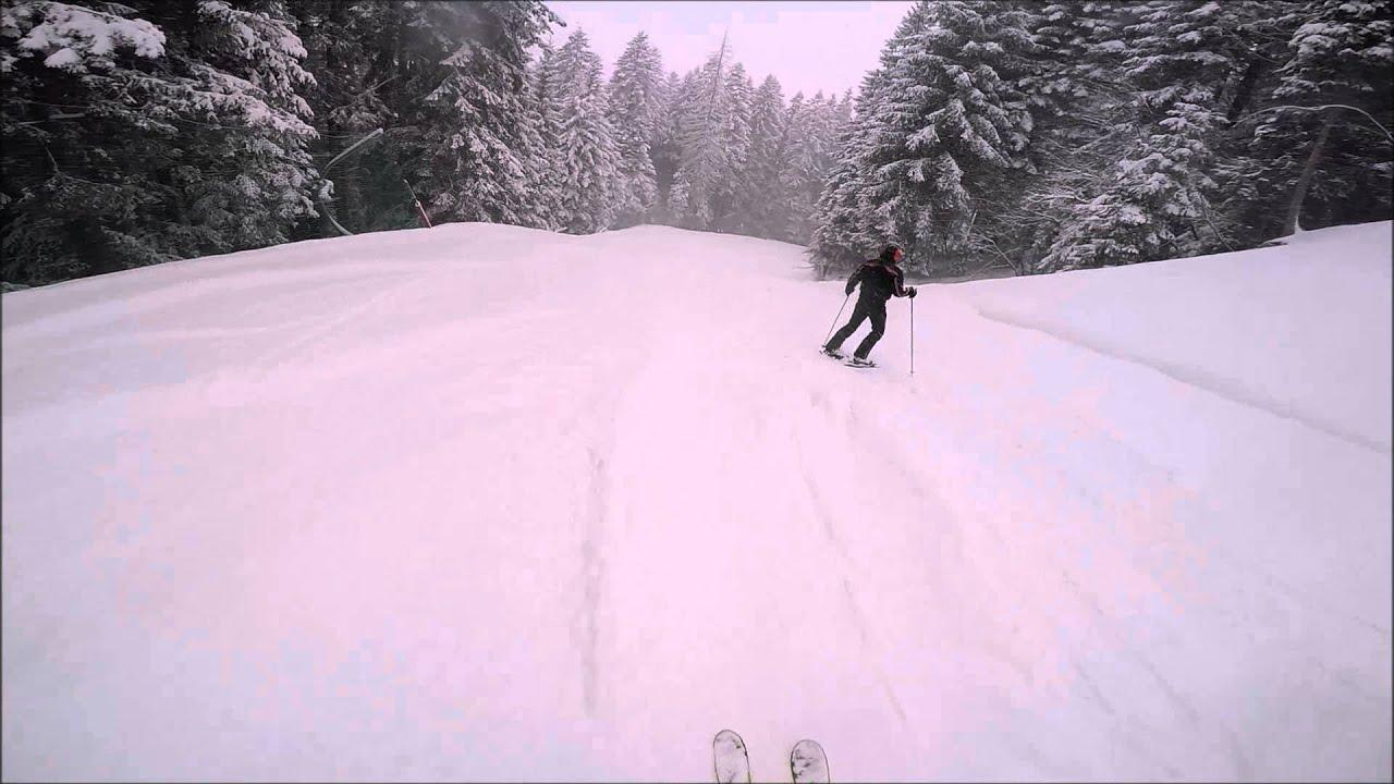 Piazzatorre 5 marzo 2016 pista del bosco in neve fresca