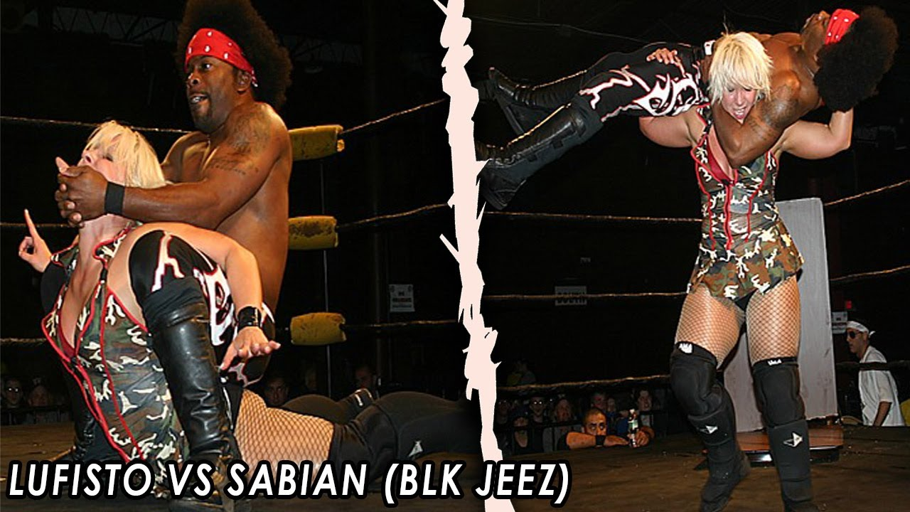 (INTERGENDER MATCH) 2007 - LuFisto Vs Sabian (BLK Jeez) - CZW Junior Heavyweight Championship
