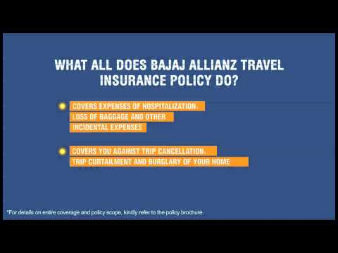 Travel Insurance | All You Need To Know About Travel Insurance - Bajaj Allianz General Insurance
