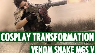 Cosplay transformation - Venom Snake (MGS V) - Zephon Cos and Azure Cosplay thumbnail