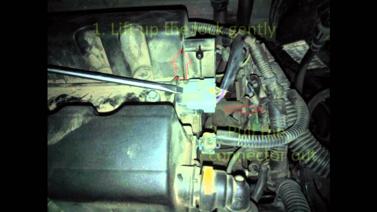 Changing Spark Plugs On Peugeot 407 2 0 2007 Youtube