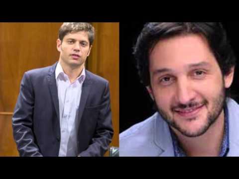 """02/03/17 - Kicillof con Paoloski: """"El gobierno de Macri no ayuda a la gente"""""""