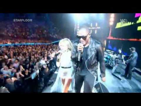 Taio Cruz feat. Kylie Minogue - Higher (Live @ Starfloor - 30.10.10) with better Sound