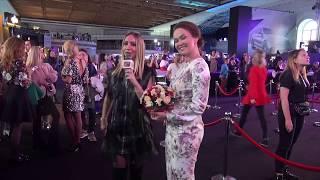 Интервью популярной актрисы Марии  Берсеневой на Mercedes Benz Fashion Week Russia