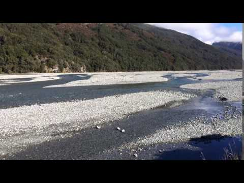 Beautiful Moutains and Glacial River: Arthurs Pass, New Zealand!