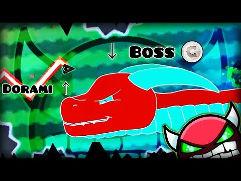 """EPIC BOSSFIGHT!!? """"IYuriI BossFight"""" 100% COMPLETE (All Coins) By IYuriI!   Geometry Dash [2.0]"""