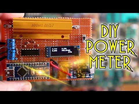DIY Arduino power/energy meter