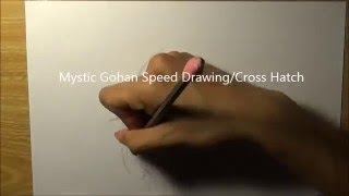 Speed Drawing Mystic Gohan
