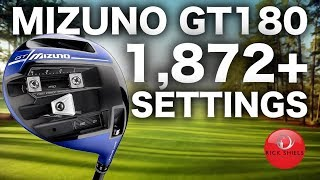 Adjustment OVERLOAD?! Mizuno GT180 Driver Review