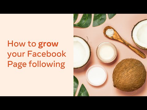How to Grow Your Facebook Page Following