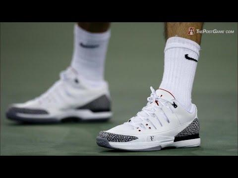 Jordan Creates Tennis Shoe for Roger Federer