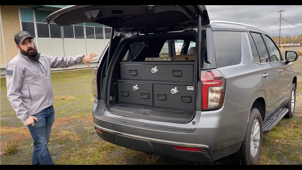 TruckVault - 2021 Chevy Tahoe Investigator Box
