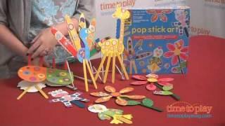 Pop Stick Art From Alex Toys