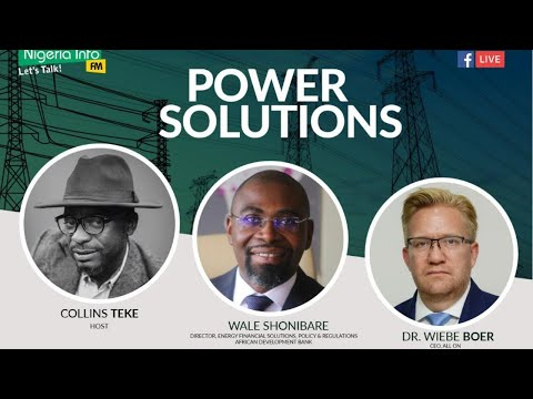 The New Deal On Energy For Africa In Nigeria