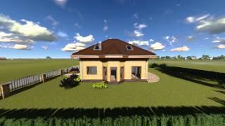 Dom jednorodzinny - cegła klinkierowa